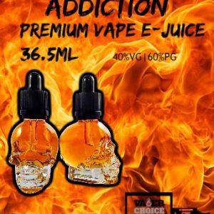 VAPERCHOICE E-JUICE - ADDICTION