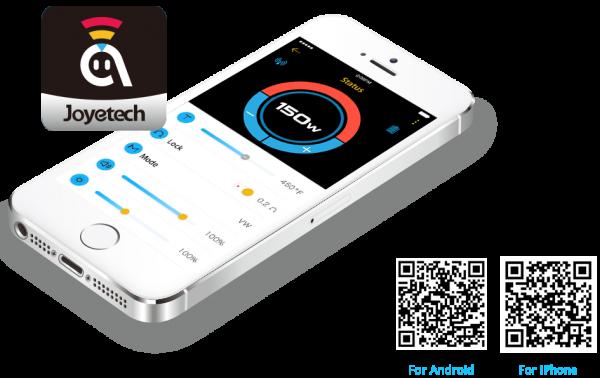 Joyetech Ocular C /150W/ Touchscreen/ MobileApp
