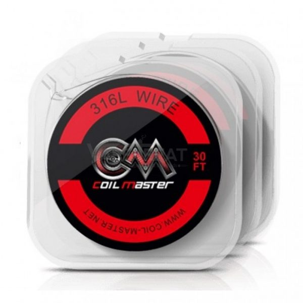 Coil Master SS316L Wire (24GA/28AWG, 30ft)