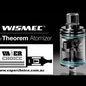 WISMEC THEOREM RTA ATOMIZER/ 22MM/GLASS TANK