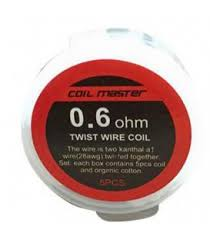 Coil Master Twist/Clapton Pre-Made Wire