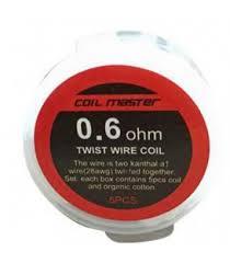 Coil Master Twist/Clapton Pre-Made Wire