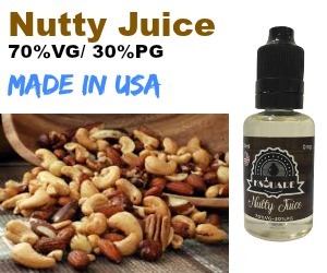 SQUARE EJUICE – NUTTY JUICE- 30ML - 60ML -70%VG/30%PG