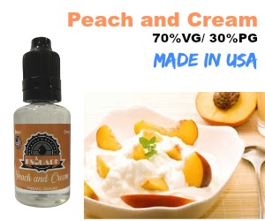 peach and cream