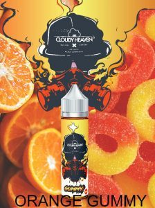 CLOUDY HEAVEN-ORANGE GUMMY 60ML