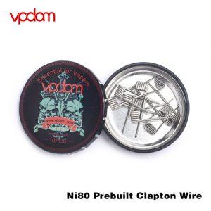VPDAM NI80 PREBUILT CLAPTON WIRE