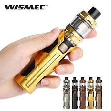 wismec sinuous SW Kit with Elabo tank built in 3000mah battery - Brown