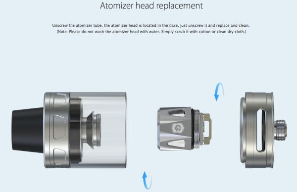 Procore aries Atomizer-VAPERCHOICE 3