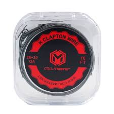 Coil Master K Clapton Wire 26+30GA/10ft