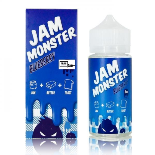 JAM MONSTER BLUEBERRY / 100ML / 25% PG-75% VG
