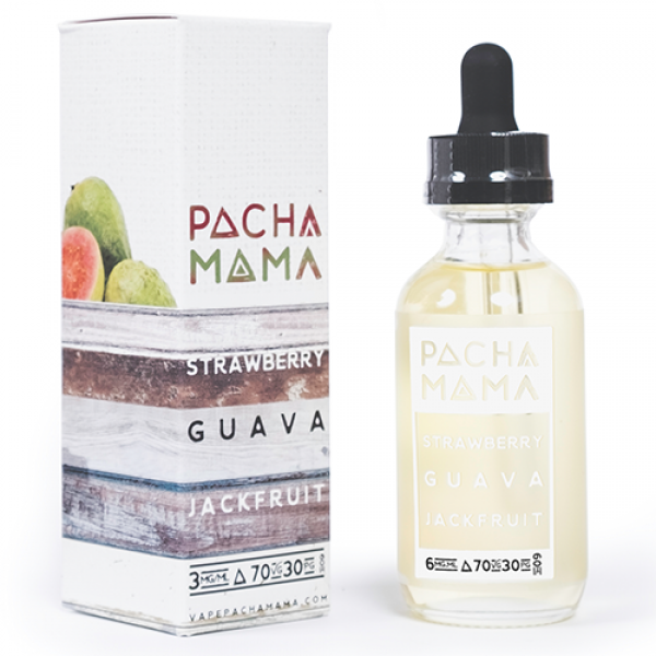 Pacha Mama - Strawberry Guava Jackfruit by Charlie's Chalk Dust - 60mL
