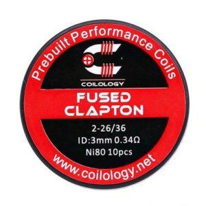 Coilology Fused Clapton Prebuilt Coils (10pcs)