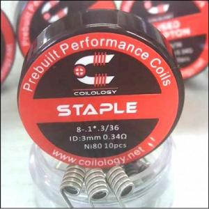 Coilology- Staple Prebuilt Coils (10pc)