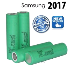 SAMSUNG 25R 18650 2500mAH-20A High Drain IMR Flat Top Battery-100% AUTHENTIC