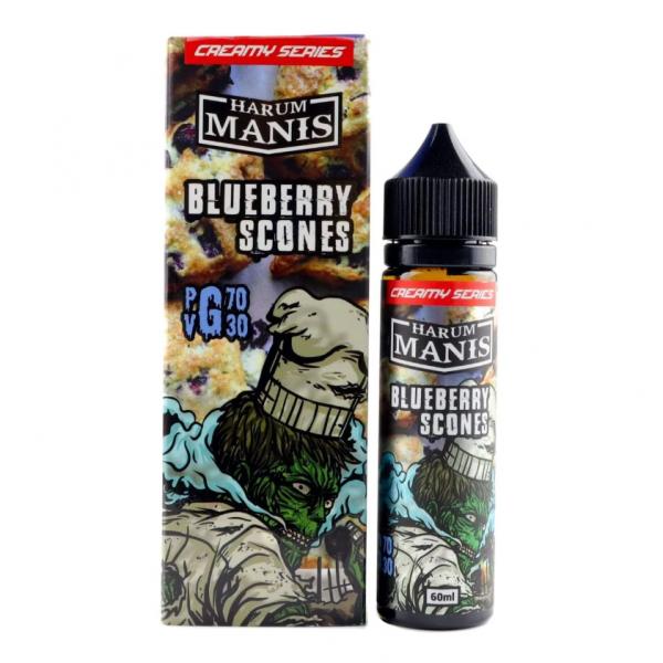 Harum Manis - blueberry scones