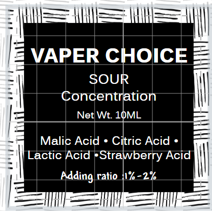 SWEETERNER BY VAPER CHOICE - 10ML -30% Sucralose Concentration